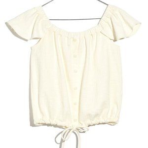 Madewell Tops - 2/$25 Madewell Texture/Thread Off-the-Shoulder Top